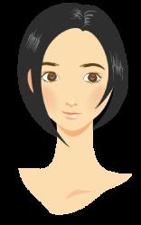 丸顔イメージ